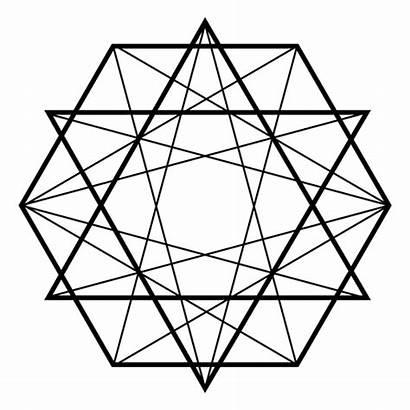 Geometric Geometry Sacred Transparent Svg Vector Fractal