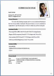 resume format fotolipcom rich image and wallpaper With latest resume