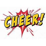 Icon Cheer Cheers Wording Acclamazione Word Flash
