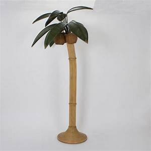 stylized reed palm tree floor lamp for sale at 1stdibs With art deco palm tree floor lamp