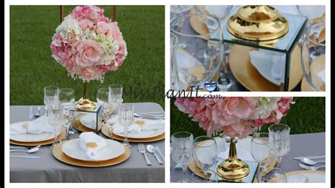 candelabra centerpiece diy how to create gold