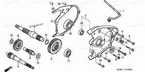 Honda Scooter 1999 Oem Parts Diagram For Transmission