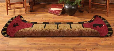 bear rugs bear canoe rugblack forest decor