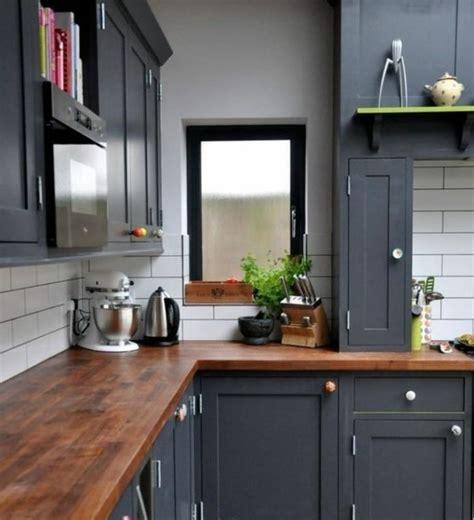 exemple peinture cuisine cuisine gris anthracite 56 id 233 es pour une cuisine chic