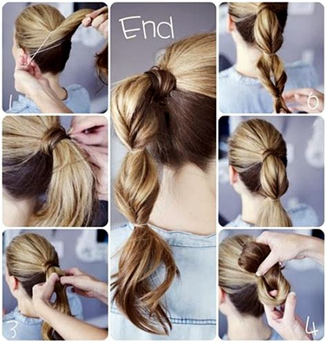 cute easy quick hairstyle pictures   images