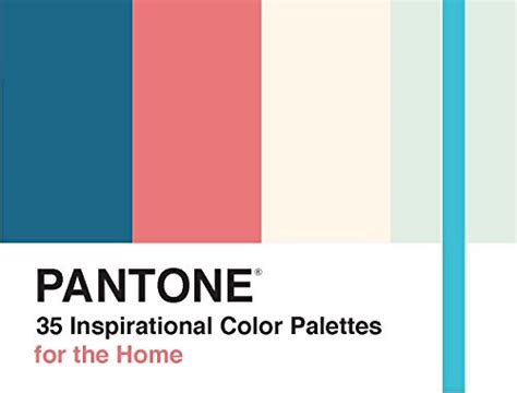 pantone  inspirational color palettes   home