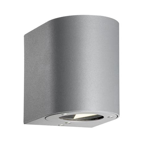 nordlux canto outdoor led wall light grey