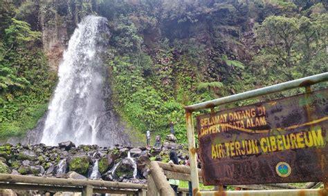 wisata air terjun curug cibeureum cibodas tempat wisata