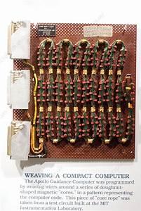 Apollo Guidance Computer Memory - Stock Image C003  0419