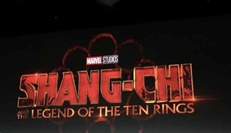 shang chi   legend   ten rings coming