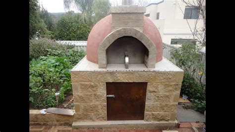 construction   pompeii wood fired pizza oven youtube