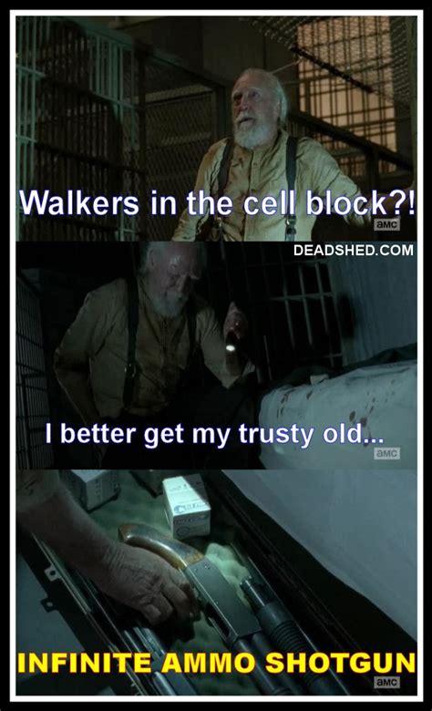 Walking Dead Memes Season 4 - deadshed productions hershel edition the walking dead 4x05 memes