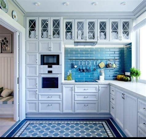 mas de  fotos de cocinas azules decoracion muebles