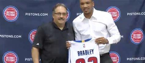 Avery Bradley introduced by Detroit Pistons: 6 takeaways ...
