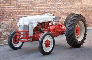 A Ford Model 9n Tractor 1939