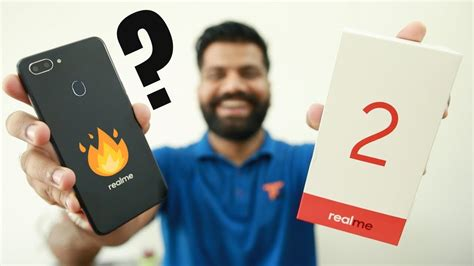 realme 2 unboxing look notch display 10k