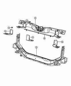 Jeep Patriot Crossmember  Radiator Closure Panel    2 0l