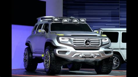 Mercedes-benz Ener-g-force Concept Crushes The Stand At