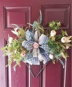 Chicken, Wire, Heart, Wreath, Spring, Wreathmother, U0026, 39, S, Day