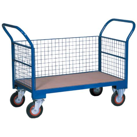 Warehouse Trolley Twin-Handled With Wire Ends & One Wire ...