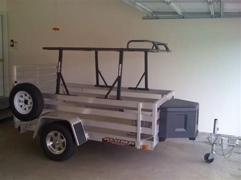 The Open Boat Purpose by How To Build A Multi Purpose Utility Trailer Cer