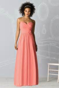 gallery for gt coral bridesmaid dress