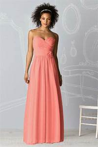 coral bridesmaid dress ipunya With coral dresses for wedding