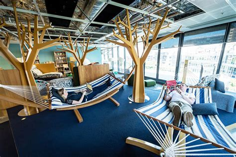 home interior design hammocks in their office
