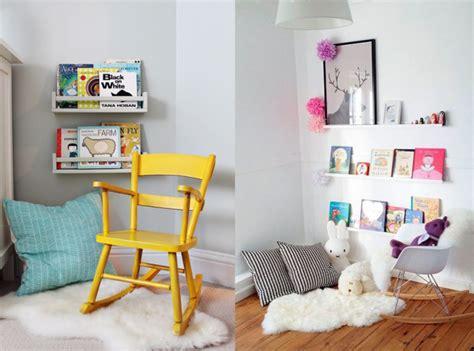 coin lecture chambre enfant un coin lecture pour les joli place
