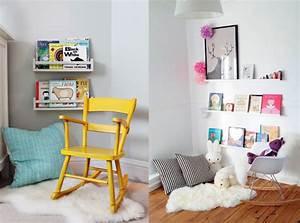 Idée Déco Chambre Bébé Garçon : un coin lecture pour les kids joli place ~ Nature-et-papiers.com Idées de Décoration