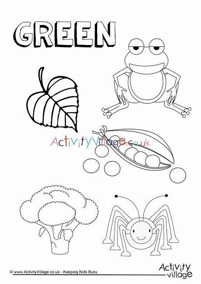Things Colouring Activity Become Colour Pages Village