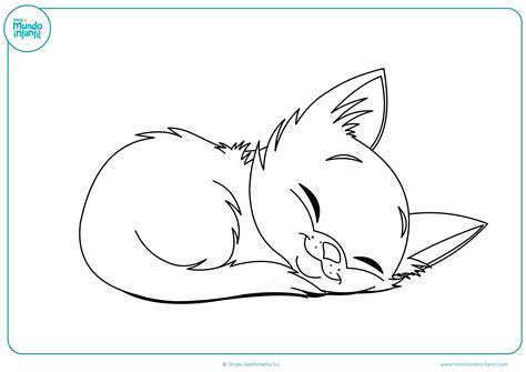 Dibujos Para Colorear Imprimir Dibujos De Gatos Para Imprimir Y Colorear Mundo Primaria