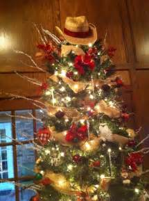 my country western christmas tree holiday o christmas tree p