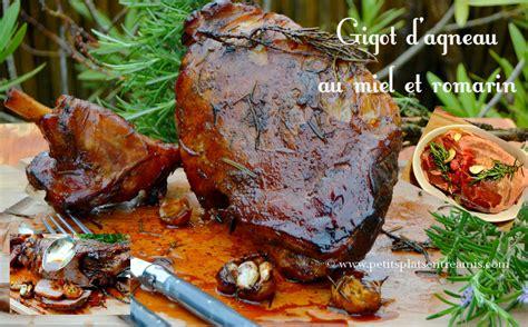 cuisiner un gigot d agneau au four gigot d 39 agneau au miel et romarin petits plats entre amis
