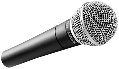 shure sm microfono dinamico hardsoft products