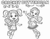 Butterbean Cafe Coloring Cricket Butterbeans Colouring Nickelodeon Sheets Printable Dibujos Dazzle Poppy Colorear Disney Recommended Jasper Worksheets Pintar Imprimir Treehousetv sketch template