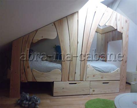 cabane pour chambre chambre cabane enfant bonnesoeurs lit cabane raliser