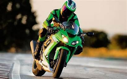 Bike Ninja Kawasaki Rider Wallpapers Zx 10r