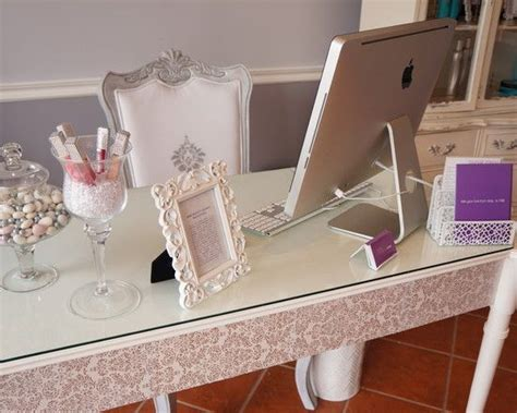 salon design  vintage style fancy modern home office