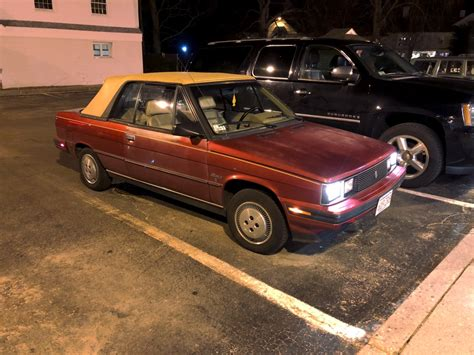 1985 renault alliance convertible april 24 2018