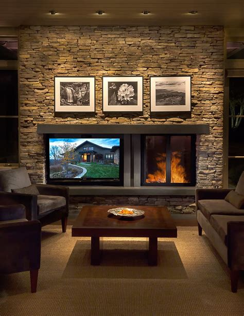 Kamin Und Fernseher by Creating Balance Between A Fireplace And Television