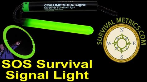 Sos Survival Signal Light By Cyalume.mpg