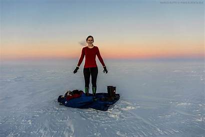 Antarctica Carmen Dressing Concordia Demonstrating Butto Pnra