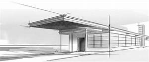 Decor Modern Architecture Sketch And Modern Architectural ...