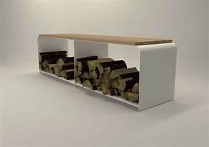 Kaminholz Aufbewahrung Innen : design metallmoebel tv sideboard wei mehrzweck kaminholz aufbewahrung aus stahl holz eiche ~ Sanjose-hotels-ca.com Haus und Dekorationen