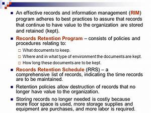 ost184 records management ppt video online download With document retention software