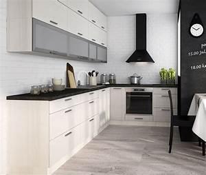 Komplett Küchen Küchenzeile : k chen l form wei ~ Sanjose-hotels-ca.com Haus und Dekorationen