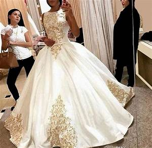 aliexpresscom buy 2017 hot sale luxury wedding dresses With gold wedding dresses for sale