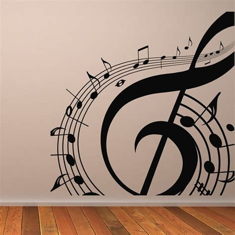 This motif is repeated then moved to another chord. AWOO DIY Musical Notation Home Decor Music Wall Sticker Removable Vinyl Decal Babys Room Wall ...