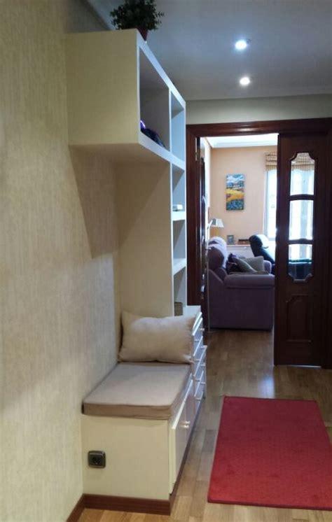 mueble pladur entrada bancada reformas  decoracion de